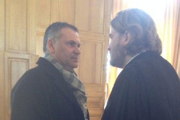 Franck Barresi et Bruno Petit l'un de ses trois avocats