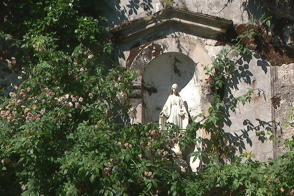 Dans le jardin d'Eden, des traces de l'ancienne occupation religieuses