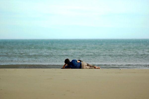 Encore quelques instants de farniente sur la plage cet après-midi, s'il vous plait Monsieur Météo.