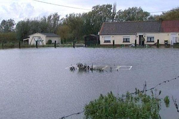 Hames-Boucres, inondée le 4 novembre dernier, fait partie des 52 communes concernées par l'arrêté de catastrophe naturelle.