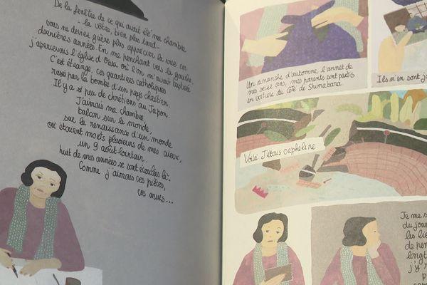 """En 2020, Quai des Bulles a décerné la Révélation BD à Agnès Hostache pour """"Nagasaki"""""""