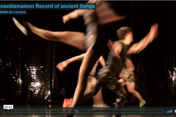Les spectacles du ballet de Lorraine disponibles sur Vimeo