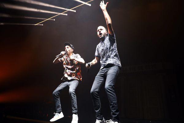 Bigflo et Oli en concert à Marseille en janvier 2020
