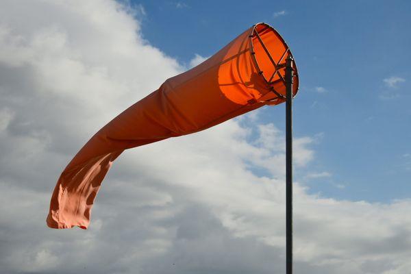 Une manche à air (image d'illustration).
