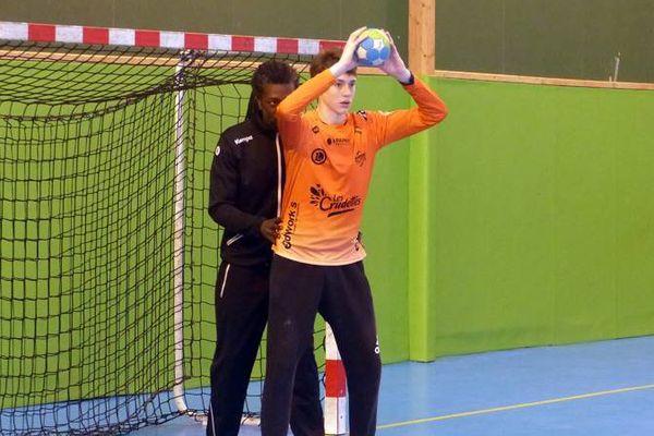 Daouda Karaboué, international français, est passé au pôle espoir de ligue à Chartres fin mars.