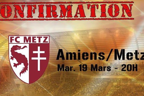 Après l'épisode neigeux les fans de foot retrouveront les tribunes du stade de la Licorne mardi 19 mars à 20 heures.