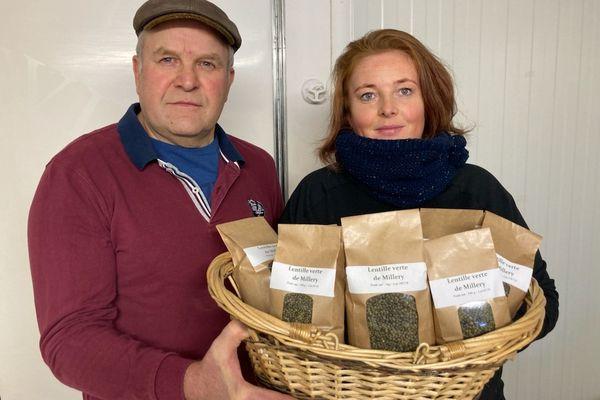 Krystel et Dominique Vannesson font partie des agriculteurs lorrains engagés dans ce projet.