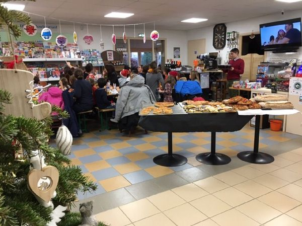 Le Noël des enfants à l'épicerie de Caignac