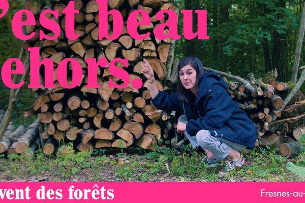Margaux Lagleize vous emmène à la découverte du Vent des Forêts, un espace rural d'art contemporain dans la Meuse.