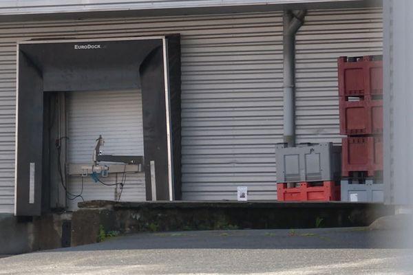 Quai de chargement du site d'Argences-en-Aubrac