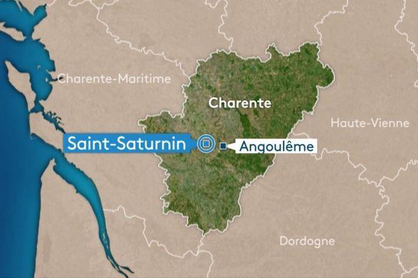 Saint-Saturnin, en Charente.