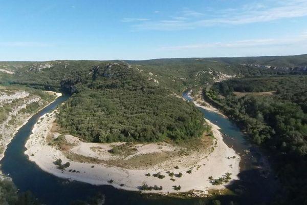 L'opérateur Orange souhaiterait que l'antenne 4G soit installée sur le plateau du Castellas, tout près du site des gorges du Gardon.