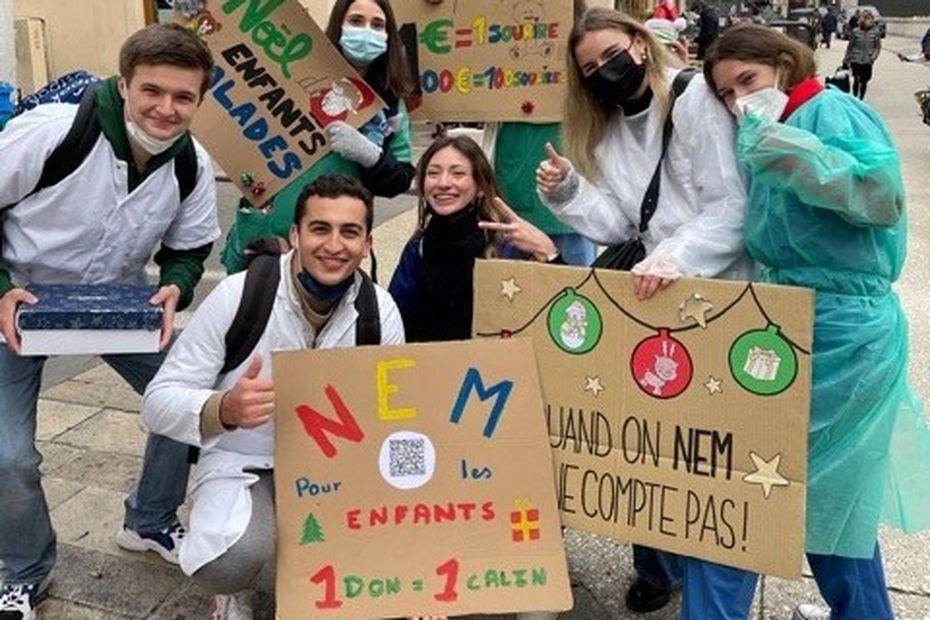Dijon : une cagnotte organisée par les étudiants en médecine pour les enfants hospitalisés