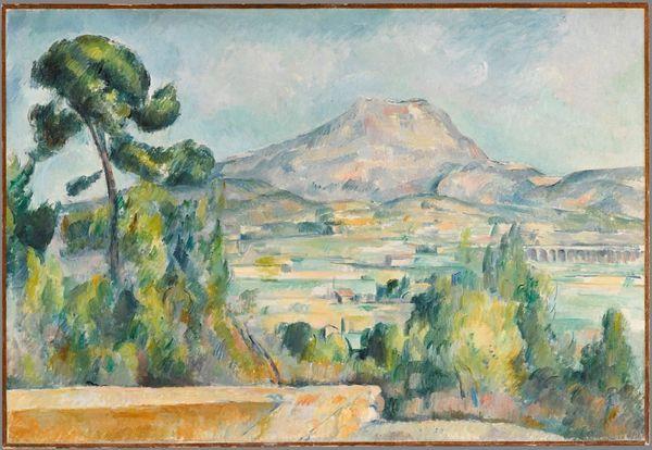 Paul Cézanne_Montagne Sainte-Victoire, vers 1890_Huile sur toile, 65 x 95, 2 cm_Musée d'Orsay, Paris