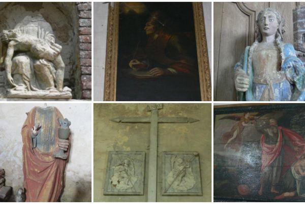 Pré-sélectionnées par la Ville de Dreux et la Direction régionale des affaires culturelles, ces oeuvres sont libres d'accès.