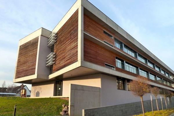 Le bâtiment d'Obernai accueille jusqu'à 800 apprentis, lycéens, stagiaires et étudiants