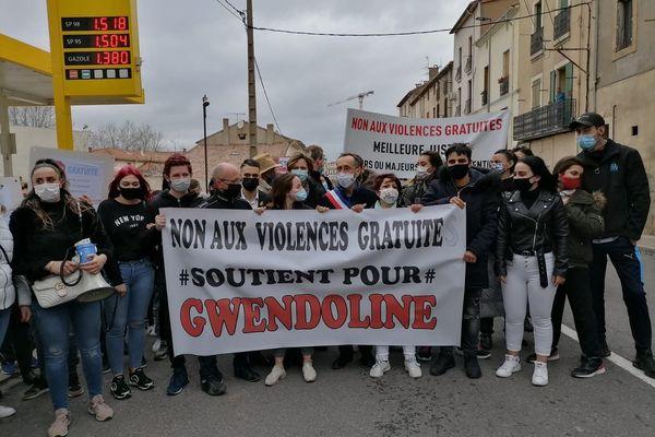 La marche en soutien à Gwendoline se tient ce samedi 20 février.