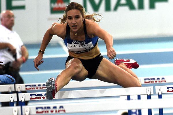 Laura Valette, championne de France 2019 à Saint-Etienne (ici à Lievin en février 2018)