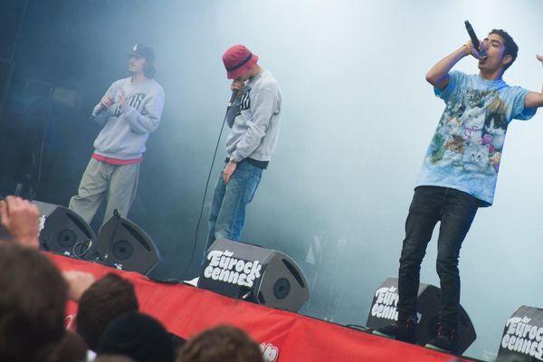 Les rappeurs de 1995 en mode clash.