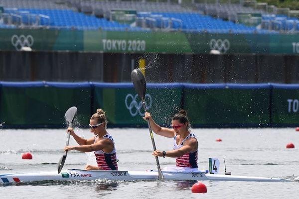 Le duo Manon Hostens/Sarah Guyot termine 7e des finales du kayak biplace déçues et frustrées après une 3e place en 1/2 finales