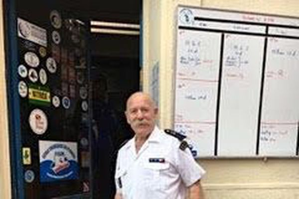 Philippe Peyrusse, 69 ans, est sauveteur en mer depuis plus de 25 ans.