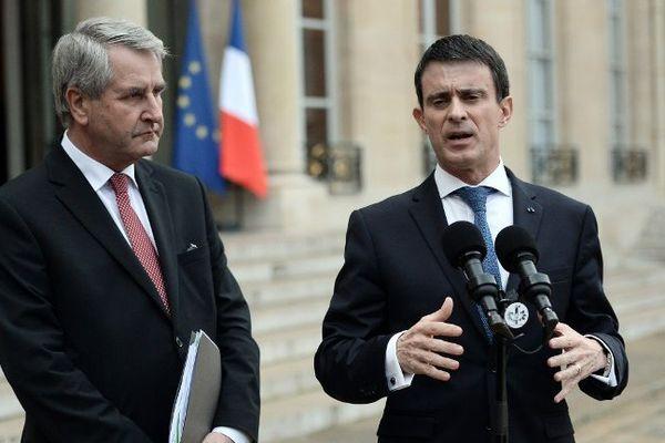 Manuel Valls et Philippe Richert