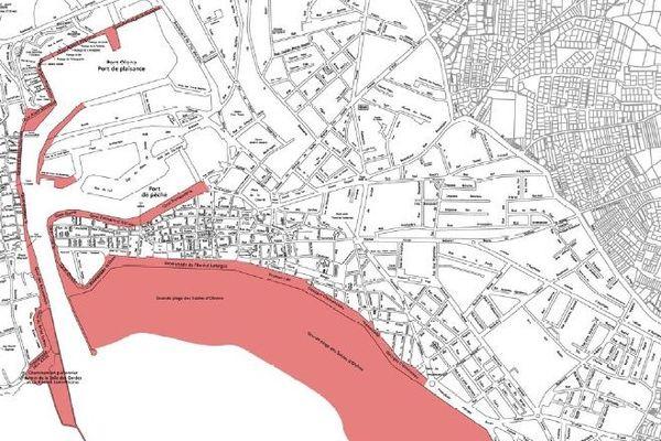Aux Sables-d'Olonne, les rives du chenal et la grande plage interdites au public le 8 novembre entre 7 heures et 11 heures du matin