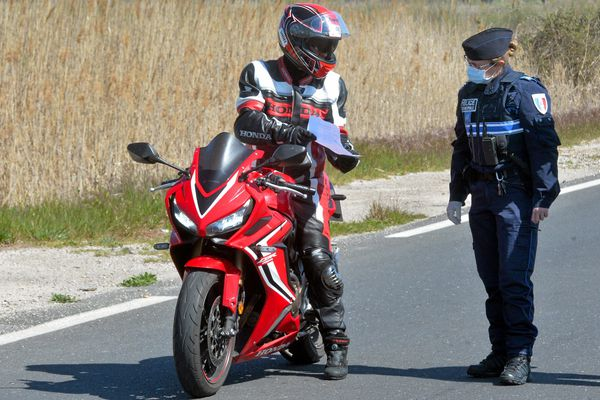 Dans le département du Doubs, 15 accidents de motos ont eu lieu depuis le début de l'année 2020. Image d'illustration.