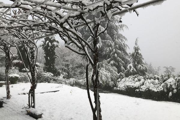 Il a neigé jusqu'en plaine cette nuit en Isère.