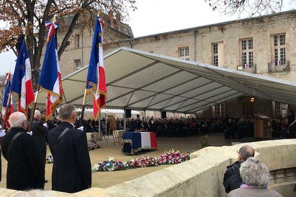 Marie-Christine Bousquet, maire de Lodève, est décédée le 15 novembre 2017.