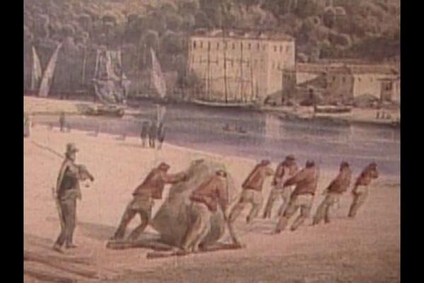 Au 18eme siècle, ce sont les bagnards qui ont construit la route royale