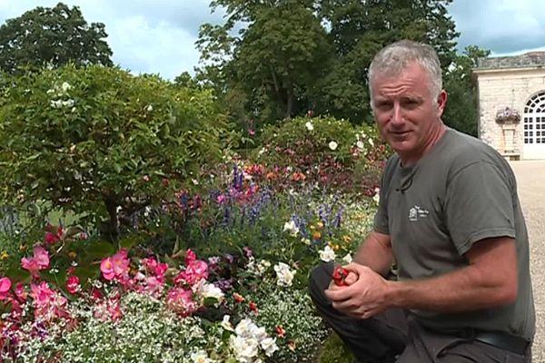 Jean-Francois Oxarango jardinier de la Villa Arnaga
