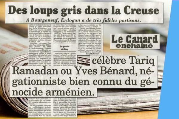 L'association a notamment relayé sur un réseau social d'Yves Bénard, un écrivain négationniste du génocide arménien.