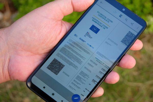 Un pass sanitaire européen sur le smartphone - archives.