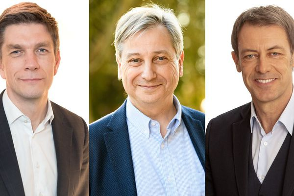 Mathieu Klein (Nancy), François Grosdidier (Metz) et Bertrand Mertz (Thionville) : trois candidats qui pourraient faire basculer les équilibres dans le sillon lorrain