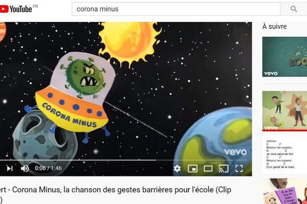 """Le nombre de vues du clip """"Corona-minus"""" augmente à vitesse grand V depuis sa mise en ligne ce vendredi-matin."""