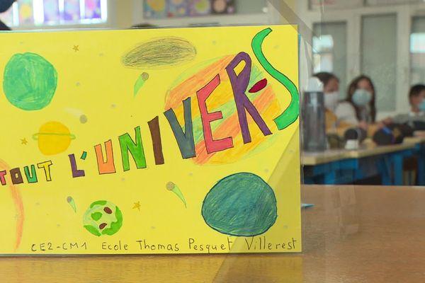 L'école élémentaire de Villerest, dans la Loire, reçoit le nom de l'astronaute français Thomas Pesquet