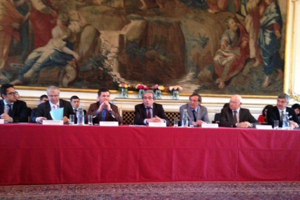 Les maires des grandes villes de la région ACAL réunis à Strasbourg autour de Roland Ries et Robert Herrmann