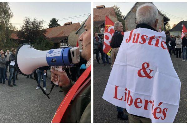 Manifestation contre le racisme à Zoebersdorf
