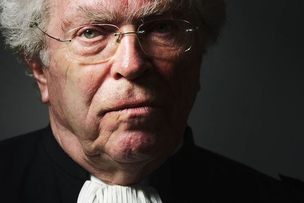 Pierre Joxe, en 2014.