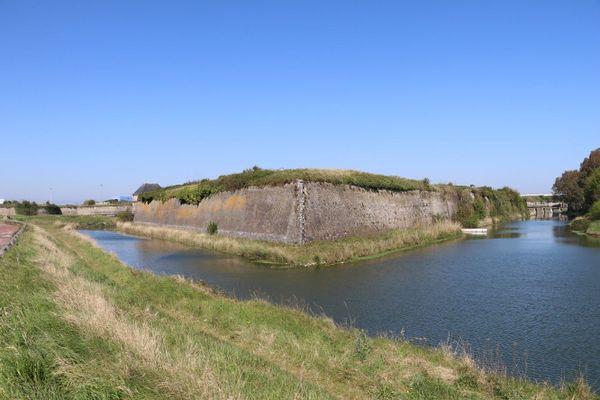 La citadelle de Calais.