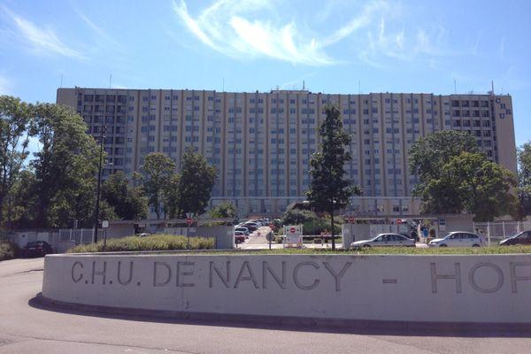 Extérieur du CHRU de Nancy-Brabois.