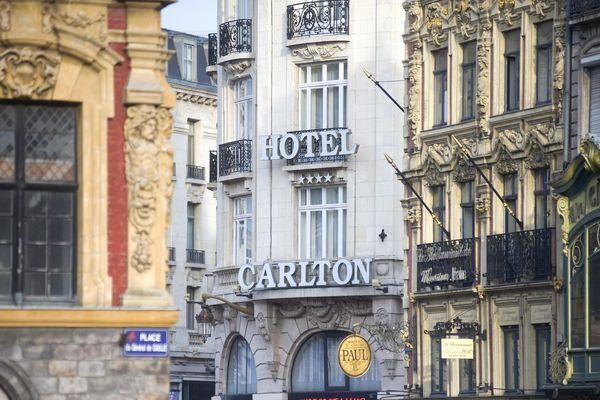 Le désormais célèbre hôtel lillois