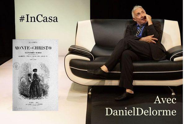Daniel Delorme, comédien et grand amateur d'Alexandre Dumas