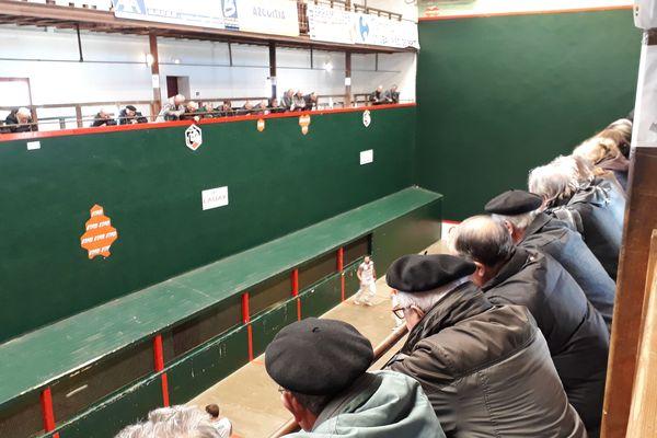 Construit en 1937, le trinquet Garat est le lieu de rendez-vous de tous les amateurs de pelote