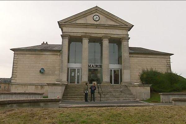 La mairie de Château-Chinon dans la Nièvre
