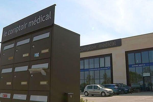 Clermont-l'Hérault - le comptoir médical - septembre 2018.