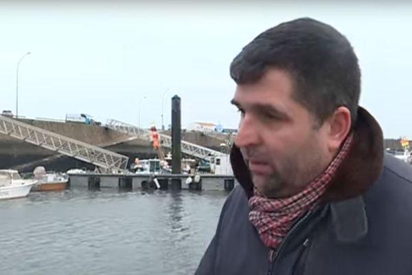 """Fabien Bouglé, porte-parole du collectif d'opposants """"Touche pas à nos îles !"""" est notamment visé par les propos du commissaire enquêteur."""