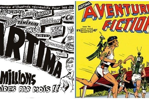 Des illustrés anciens des éditions Artima