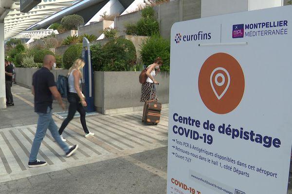 Un centre de dépistage a ouvert à l'aéroport de Montpellier le vendredi 2 juillet.